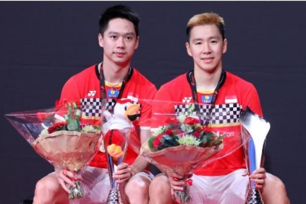 Rebut Tiket Semifinal French Open 2019, Kevin/Marcus Tak Terbendung