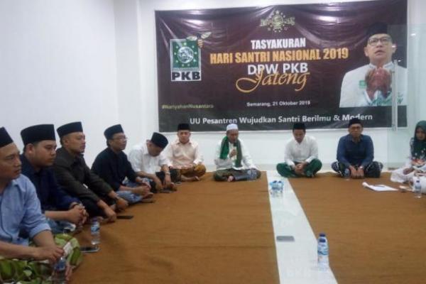 Syukuran Hari Santri, PKB Jateng Gelar Nariyahan Nusantara