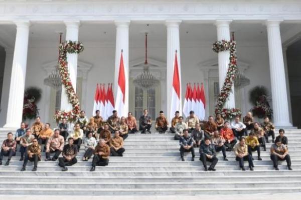 Presiden Jokowi Optimis Kabinet Indonesia Maju Jauh Lebih Kompak
