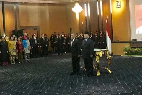 Jadi Menhan, Ryamizard Minta Prabowo Selesaikan Masalah 3% TNI Terpapar Radikalisme