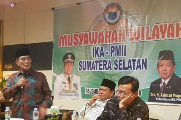 Terpilih Secara Aklamasi, KH Amiruddin Nahrawi Pimpin PW IKA-PMII Sumsel