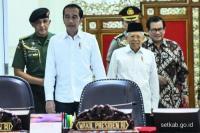 Presiden Jokowi Minta Penguatan Pertahanan Utamakan Produksi Dalam Negeri