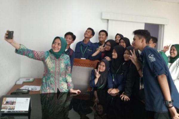 Terima Kunjungan Peserta MRP, Farida: PKB Tempatnya Milenial