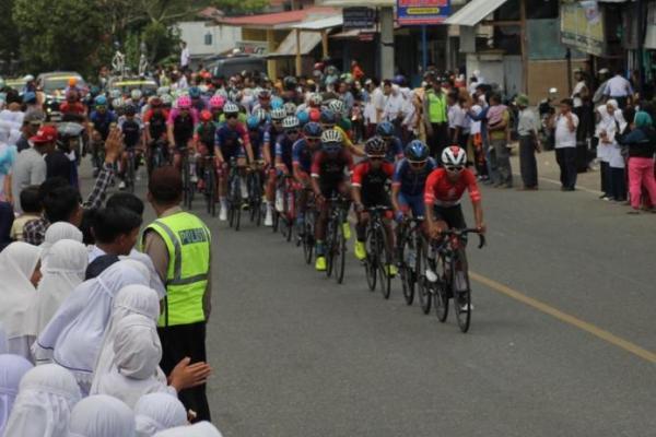 Etape III Tour de Singkarak 2019, 94 Pembalap Jajal Lintasan 129,9 KM