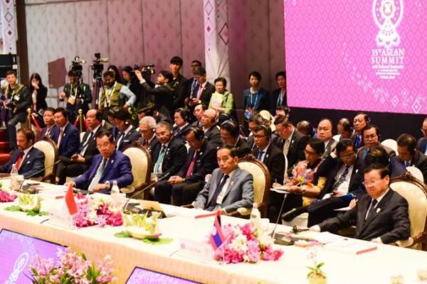 Presiden Jokowi Apresiasi India Atas Dukungan Konsep ASEAN Outlook on Indo Pasific