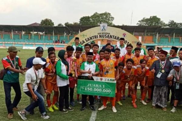 Pesantren Nur Iman Juara Liga Santri Nusantara 2019 Usai Tundukkan Al Makmur