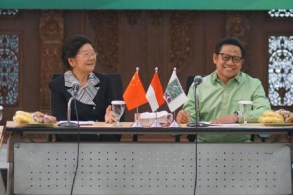 Gus Muhaimin Terima Kunjungan Gu Xiulian Bahas Kerjasama Politik dan Budaya