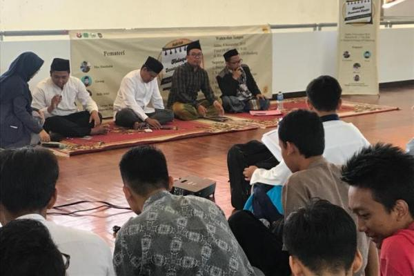 Halaqoh Imarotul Masjid di UPI Bandung, Menangkal Paham Radikal di Kampus