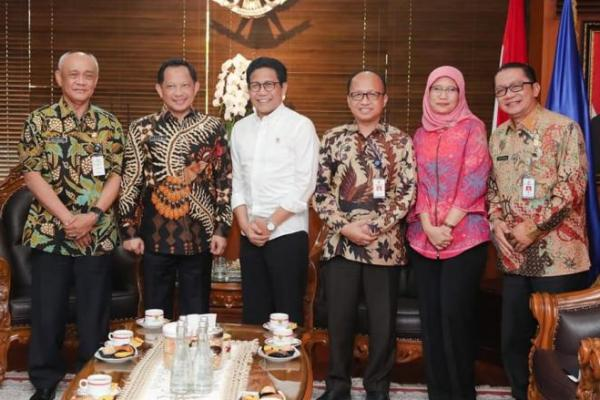 Optimalisasi Dana Desa, Gus Halim Lakukan Pertemuan dengan Tito Karnavian