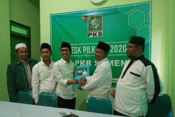 Wakili Santri Milenial, Nur Faizin Daftar Calon Wakil Bupati Sumenep ke PKB