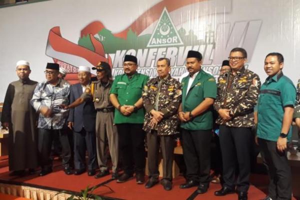 Anggota DPR RI FPKB Abdul Wahid Hadiri Konferwil GP Ansor Riau di Pekanbaru