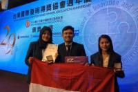 Top! Tiga Kader PMII Malang Sabet Emas di Ajang Kompetisi Inovasi di China