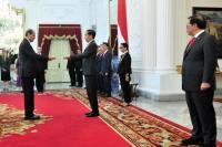 Presiden Jokowi Terima Surat Kepercayaan dari 14 Negara Sahabat
