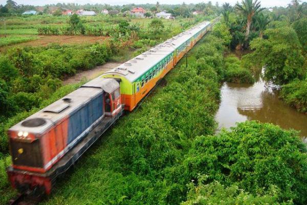 KAI Sumbar Ubah Sejumlah Rute Perjalanan Kereta Api