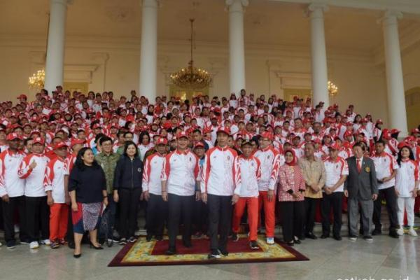 Raihan Emas Lampaui Target, Presiden Jokowi: Kita Kasih Bonus