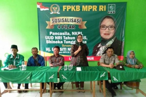 Gelar Sosialisasi 4 Pilar, Ela Siti Nuryamah Tegaskan Radikalisme Musuh Bersama