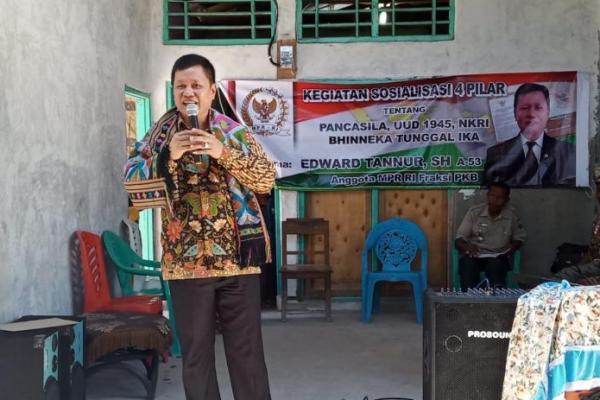 Edward Tannur Dorong NTT Jadi Teladan dan Contoh Kerukunan di Indonesia