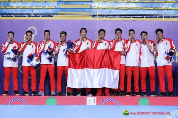 Tim Beregu Putra Indonesia Rebut Emas Sea Games 2019
