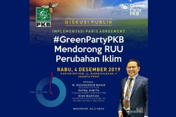 Sambut Pembukaan Paviliun Indonesia di COP25 Madrid, PKB Gelar Diskusi Publik