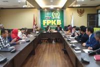 Muhammad Kadafi Terima Delegasi People`s Congress of Hubei Province di Fraksi PKB