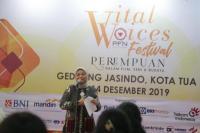 Menteri Ida Fauziyah Resmikan Gelaran `Vital Voices Festival 2019`