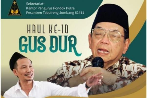 Gus Baha akan Warnai Haul ke-10 Gus Dur di Pesantren Tebuireng