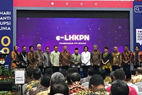 Kemenkeu Raih Penghargaan Penerapan LKHPN Terbaik 2019 dari KPK