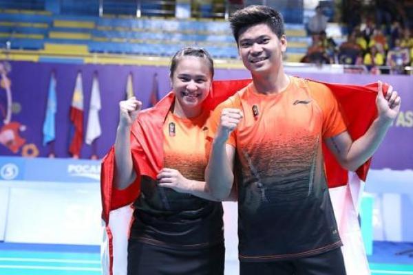 Kandaskan Pasangan Malaysia di Final Sea Games 2019, Praveen/Melati Sumbang Emas