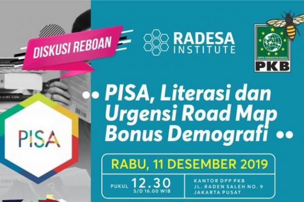 Diskusi Reboan PKB: PISA, Literasi dan Urgensi Road Map Bonus Demografi
