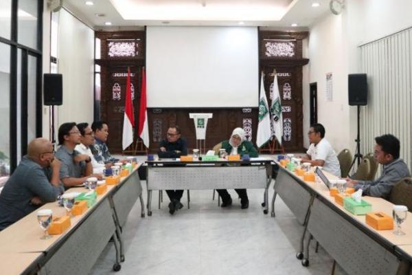 LANSKAP dan WFD Indonesia Sambangi Markas PKB, Ini yang Dibahas