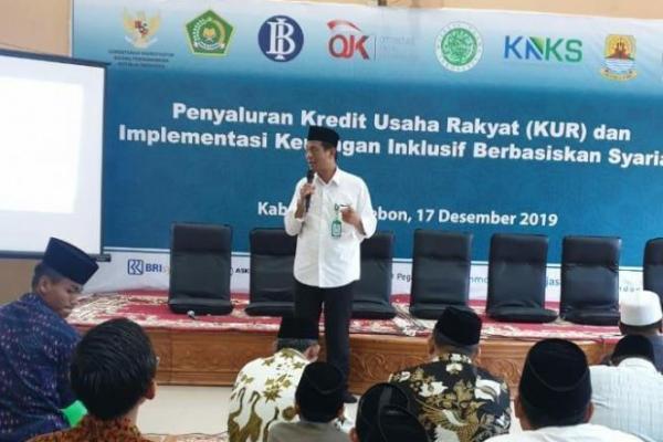 Kemenag Sosialisasi Jaminan Produk Halal di Pesantren KH Aqil Siraj Kempek Cirebon