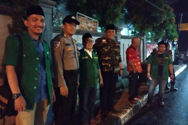 Banser Depok Terjunkan Puluhan Anggota Bantu Amankan Natal