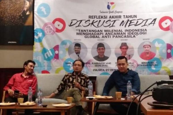 Sekjen PKB: Lawan Ideologi Anti Pancasila dengan Handphone Kalian