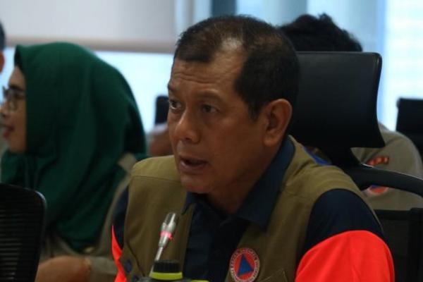 Doni Monardo Tinjau Pengungsian Gunung Merapi di Boyolali