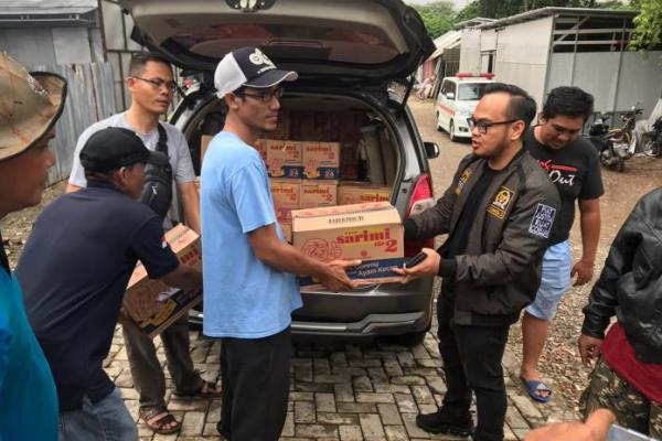 Legislator PKB Salurkan Bantuan untuk Korban Banjir di Tangerang