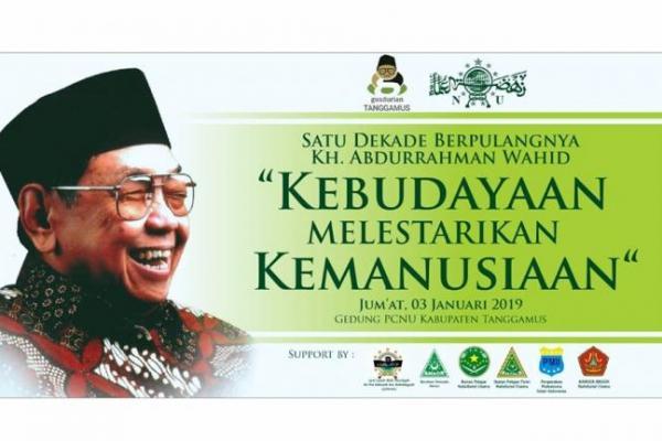 Gusdurian Tanggamus Lampung Gelar Haul Gus Dur ke 10
