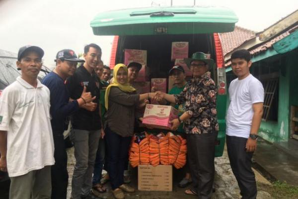 Gus Muhaimin Salurkan Bantuan Banjir dan Longsor Lewat DPC PKB Lebak