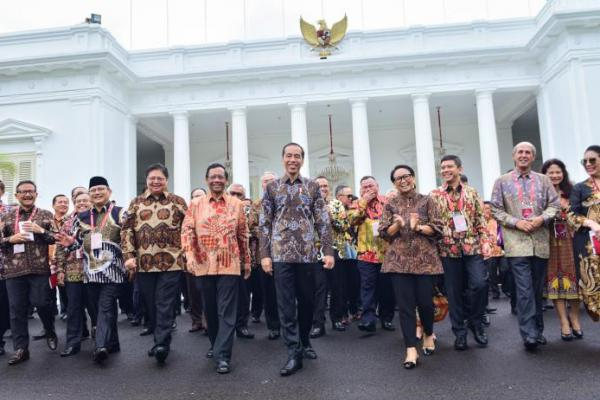 Presiden Jokowi Minta Dubes Indonesia Jadi Duta Investasi