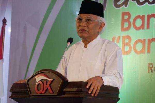 Resmikan Bank Wakaf Mikro di Rembang, OJK Gandeng Gus Mus