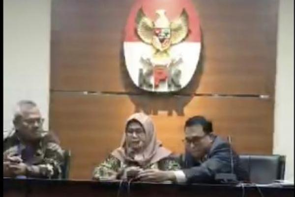 Komisioner KPU Wahyu Setiawan Diduga Terima Suap Rp600 Juta