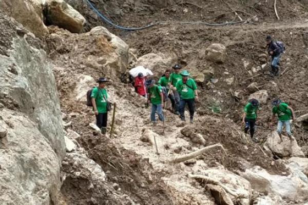 PKB Berhasil Buka Posko di Kawasan Terisolir Banjir dan Longsor Lebak