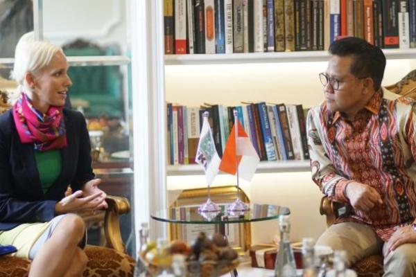 Dubes Hongaria Temui Gus Muhaimin, Bahas Peluang Kerjasama Politik
