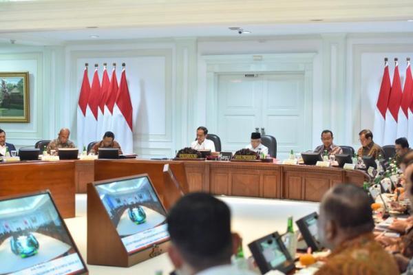 Presiden Jokowi Pimpin Ratas Bahas PON ke-20 Papua