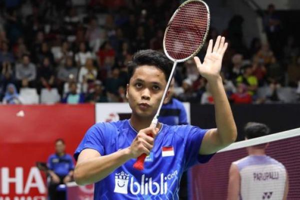 Menang Lawan Viktor Axelsen, Anthony Ginting Melaju ke Final Indonesia Masters 2020