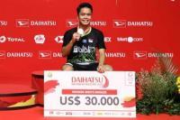 Anthony Ginting Juara, Indonesia Rebut Tiga Gelar