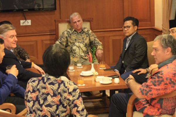 Gus Muhaimin Bertemu Petinggi CDI di Sela Executive Meeting