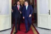 Usai Hadiri Pertemuan CDI di Yogyakarta, PM Hungaria Bertemu Presiden Jokowi
