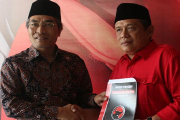 Tunggu Restu DPP, Halim Muslih dan Joko Purnowo Kian `Mesra` Hadapi Pilkada Bantul