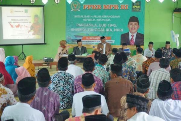 Sosialisasi 4 Pilar di Bantul, Sukamto Ingatkan Pentingnya Kebhinekaan