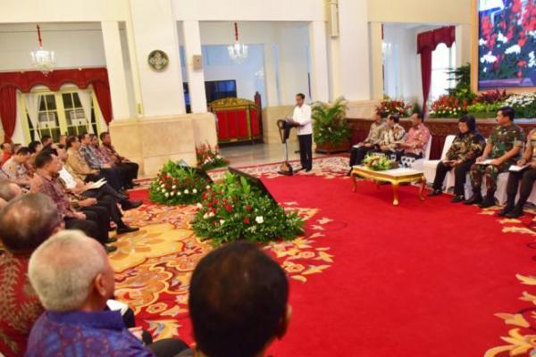 Hadiri Rakornas Karhutla, Ini Pesan Presiden Jokowi